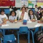 Berrios visits local schools